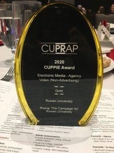 Gold CUPPIE Award - Video